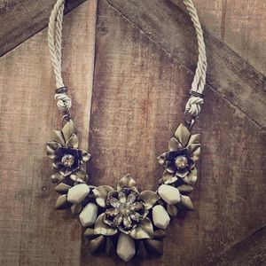 Gardenia Statement Necklace by Chloe + Isabel